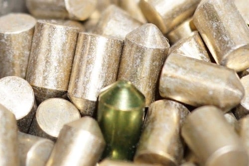 image of lock cylinder pins