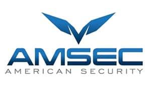 AMSEC (American Security) company logo